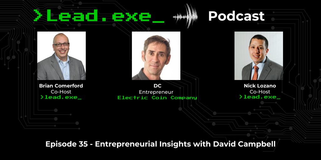 Episode 35: Entrepreneurial insights with David Campbell