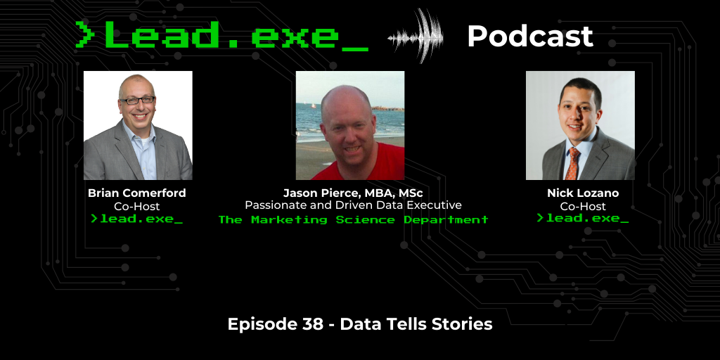 Episode 38: Data Tells Stories with Jason Pierce