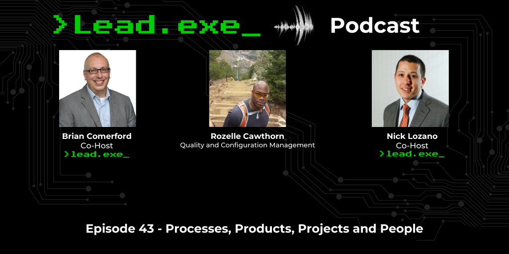 Episode 43: Processes, Products, Projects and People with Rozelle Cawthorn